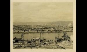 Hiroshima distrutta in una foto dell'autunno 1945