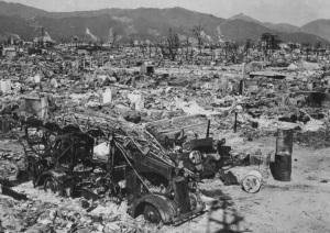 La stazione dei vigili del fuoco completamente distrutta, nonostante fosse a 1,2 km da ground zero