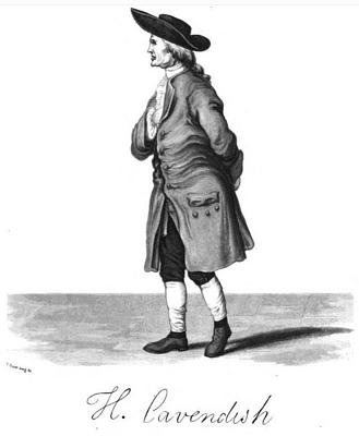 Lord Henry Cavendish in tutto il suo splendore