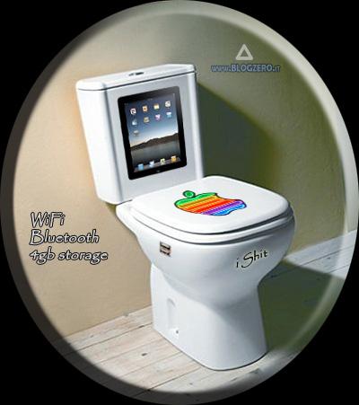 Apple iShit, ultima innovazione di Steve Jobs